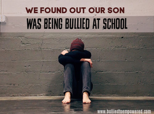 The day we found out our child was being bullied by his former best friend