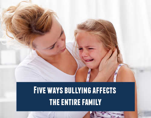 Bullying is stressful for parents as well