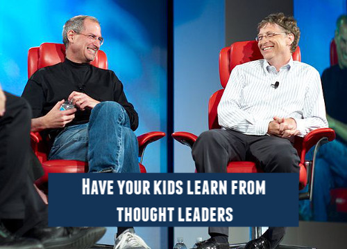 Have your kids learn from the smartest people in the world