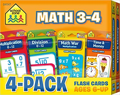 Help your kids with math flash cards