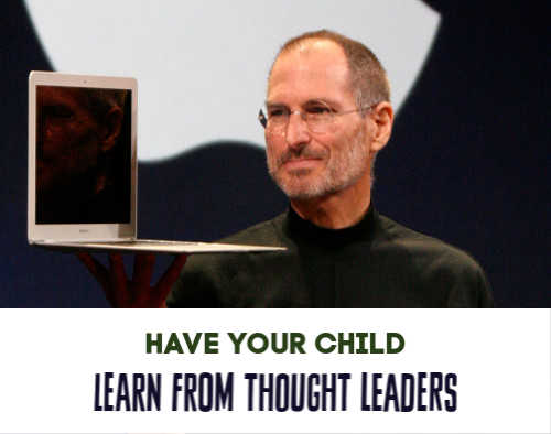 Have your kids learn success principles from the world's best like Steve Jobs