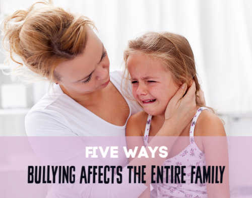 Bullying is stressful for everyone in the family